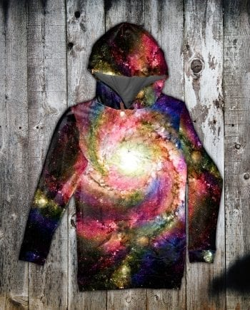 Spiral Galaxy hoodie dress