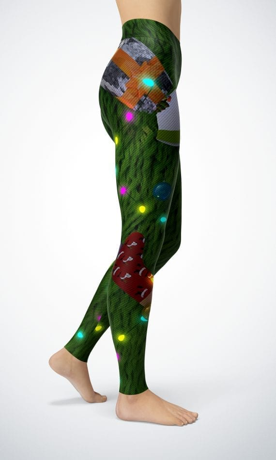 Christmas Leggings Christmas thief