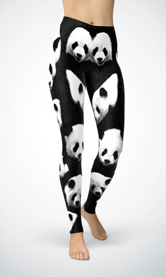 Pandas n Lace panda leggings