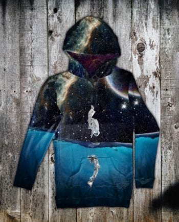 galaxy hoodie dress